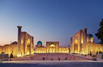 Visum für Usbekistan